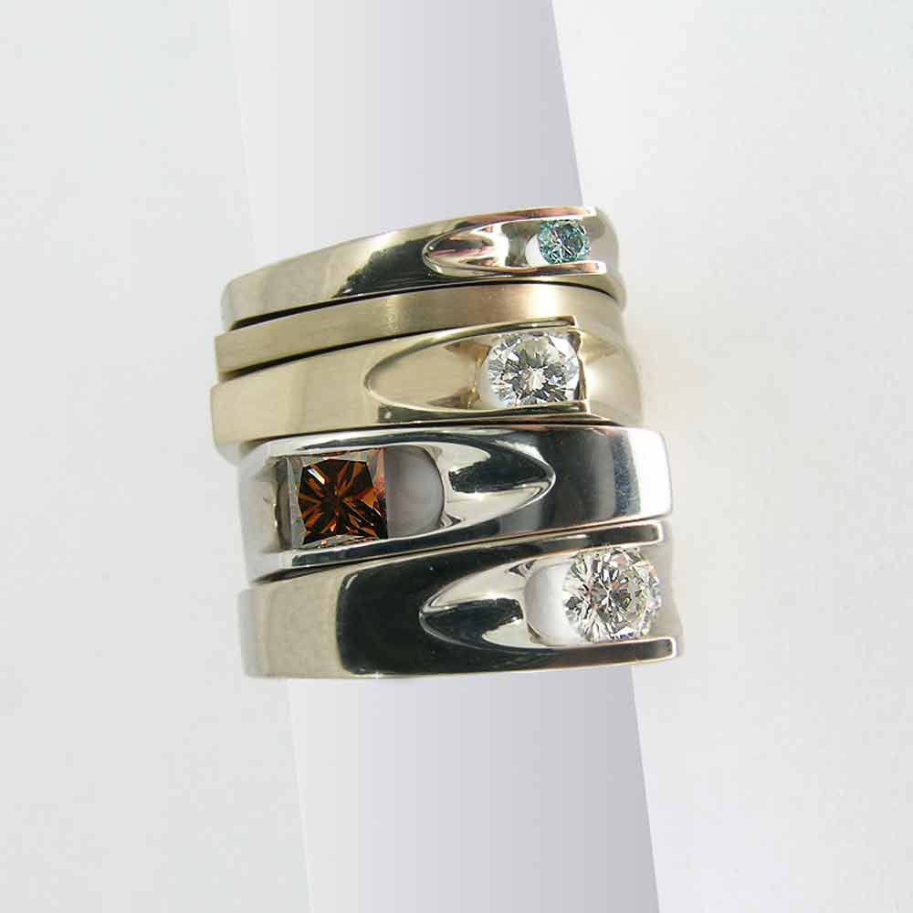 Groove ring designs