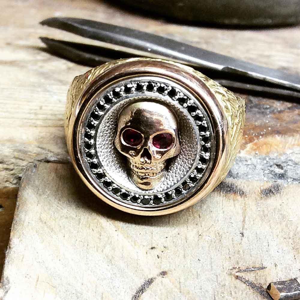 Custom-designed ring