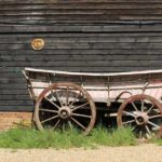 Old cart on the farm