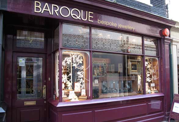 Baroque Bespoke Jewellers Shopfront