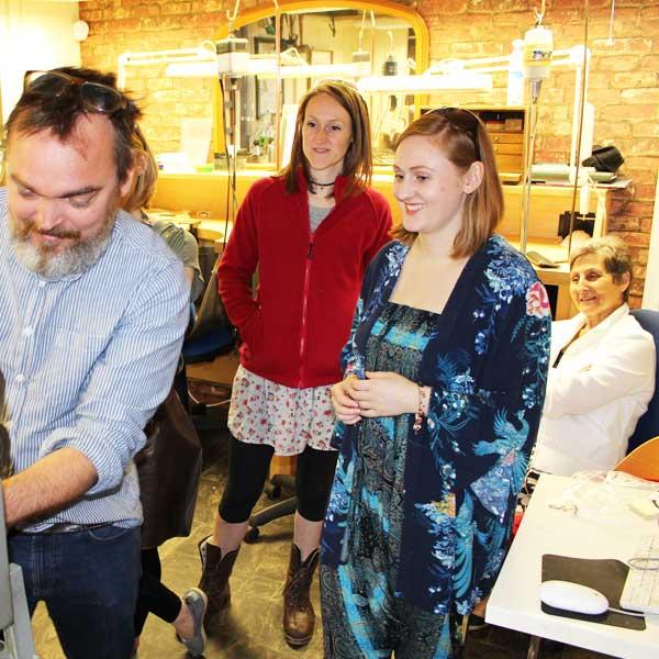 Remembrance ring workshop session