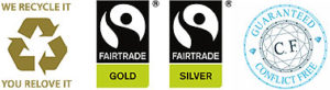 Fairtrade and ethical jewellery icons
