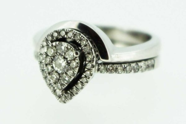 Fitted Wedding Ring for Marquise Engagement Ring