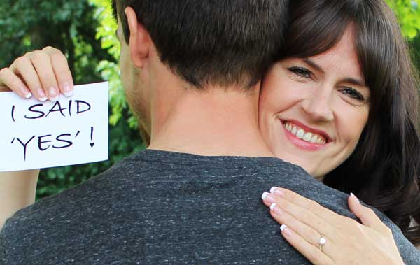'I Said Yes' surprise proposal